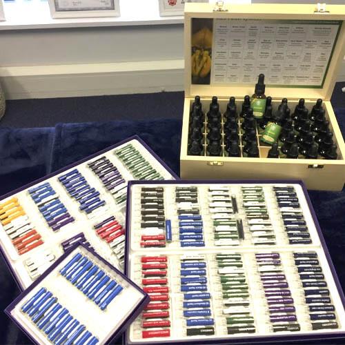 Bio Kinesiology testing vials